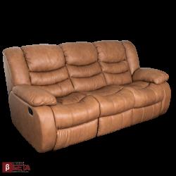 Кожен диван - тройка AMANDA