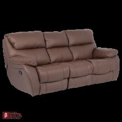 Кожен диван - тройка SANDRA