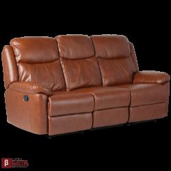 Кожен диван - с релакс механизъм REYA