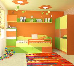 Мебели и обзавеждане за детски стаи - детски бюра, детски столове, детски шкафове, скринове, чекмеджета